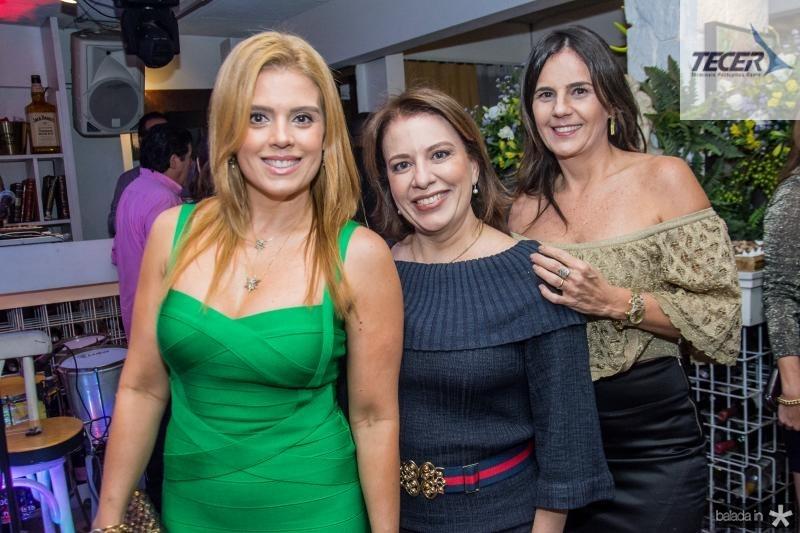 Leticia Studart, Ana Zelia Gadelha e Patricia Franca