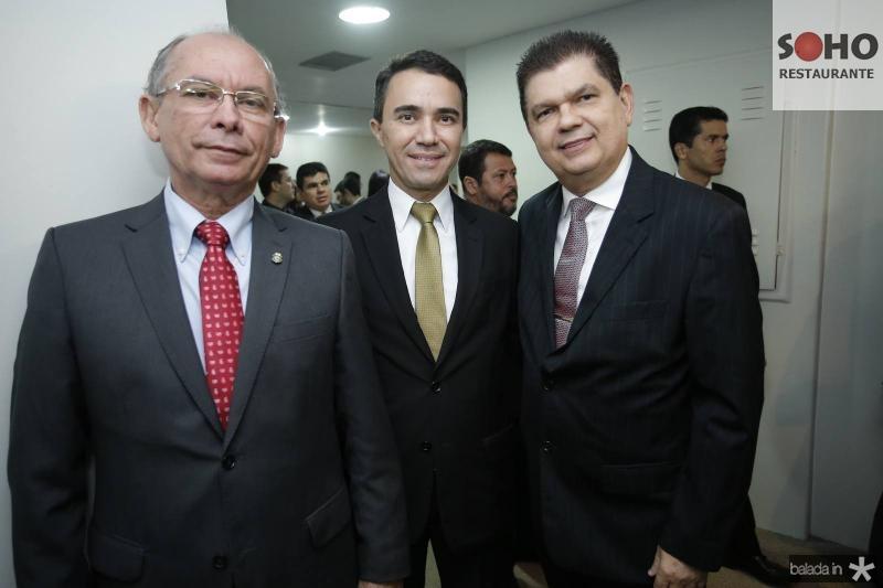 Nelson Martins, Placido Rios e Mauro Benevides Filho