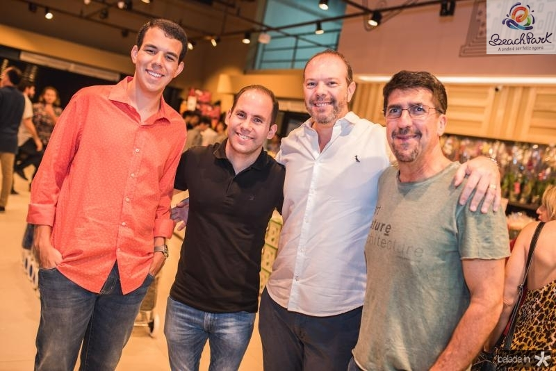Fernando Mariana, Gentil Filho, Alexandre Edson e Marcio Sobral