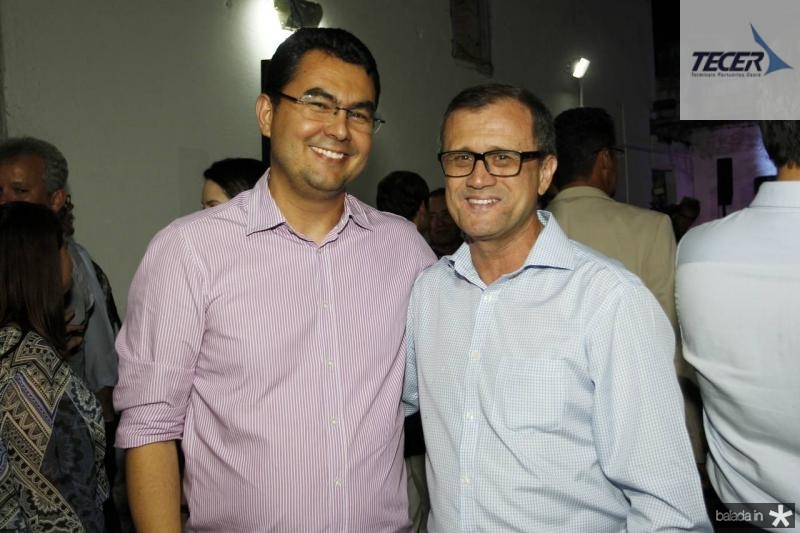 Iraguassu Teixeira e Valnei Machado