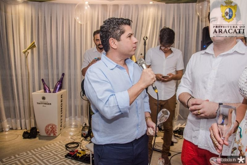 Pompeu Vasconcelos, Danilo Dias e Patricia Dias