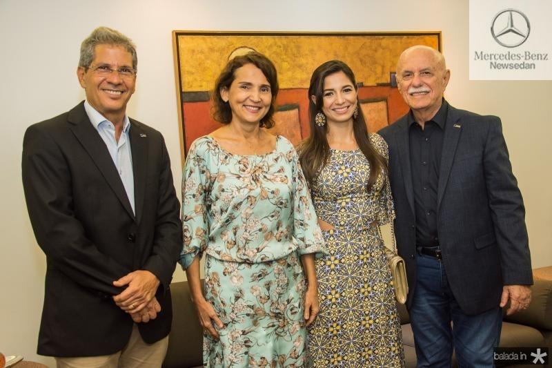 Severino Ramalho Neto, Izolda Cela, Jamila Araujo e Freitas Cordeiro