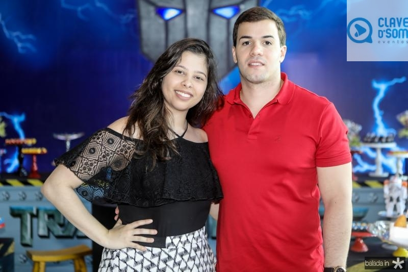 Ligia Antunes e Pedro Gadelha