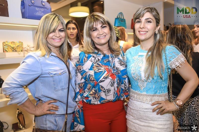 Sandra Freire, Jaqueline Gomes e Daniele Moreira