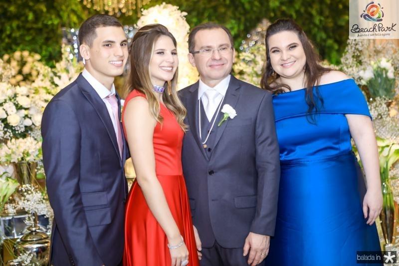 Marina e Gabriel Rolim, Carlos Matos e Natalia Lima