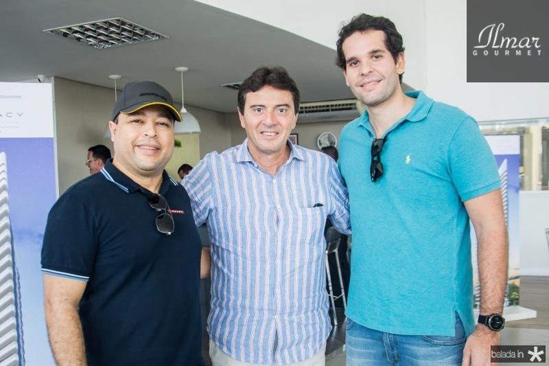 Jocielton Aquino, Luiz Teixeira e Joao Fiuza