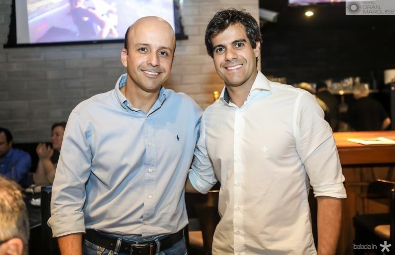 Ricardo Montenegro e Alan Oliveira
