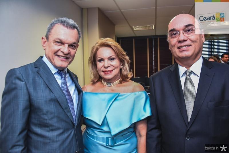 Sarto Nogueira, Iracema Vale e Luciano Lima