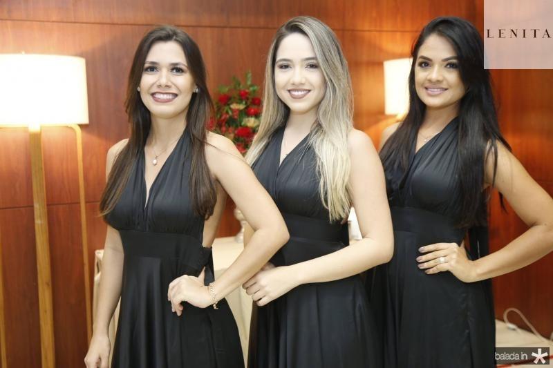 Ana Souza, Andressa Hellen e Leonia Tomaz