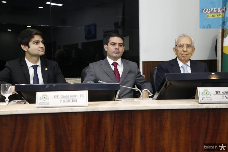 Pedro Gomes de Matos, Bruno Carrah e Paulo Ponte