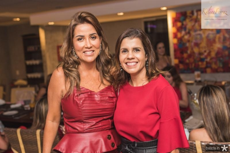 Ana Vladia Barreira e Claudia Diniz
