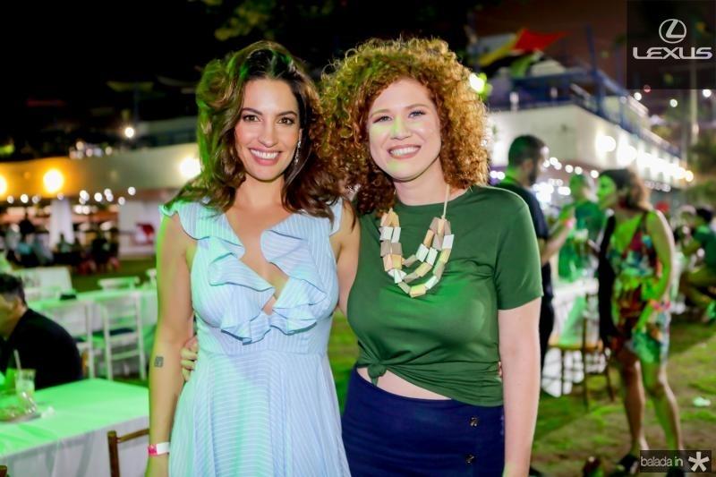 Laura Ramos e Grazi Costa