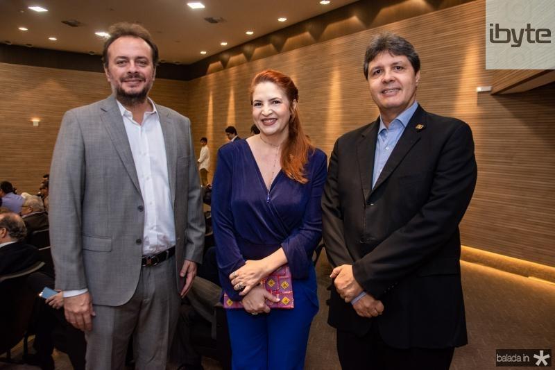 Adriano Nogueira, Enid Camara e Marcos Oliveira