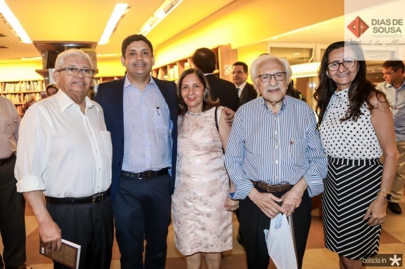 Manoel Oliveira, Bruno Queiroz, Maria Queiroz, Joao de Lemos e Sonia Cavalcante