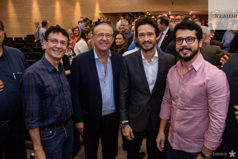 Francilio Dourado, Candido Quindere, Marcelo Quindere e Rafael Fujita
