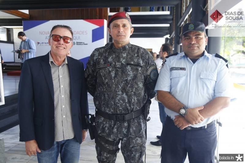 Darlan Leite, Aginaldo Oliveira e Clairton Abreu