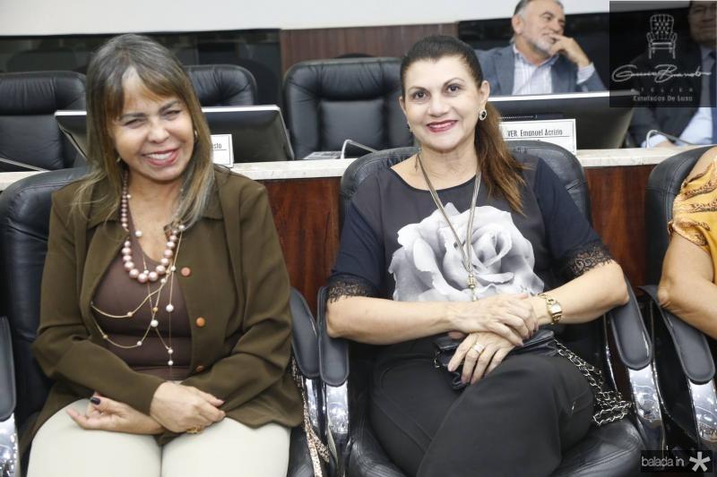 Selma Cabral e Candida Portela