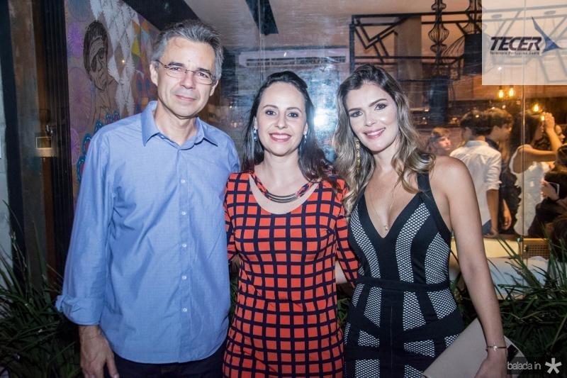 Heraclito Vieira, Tatiane Sitole e Carolina Freund