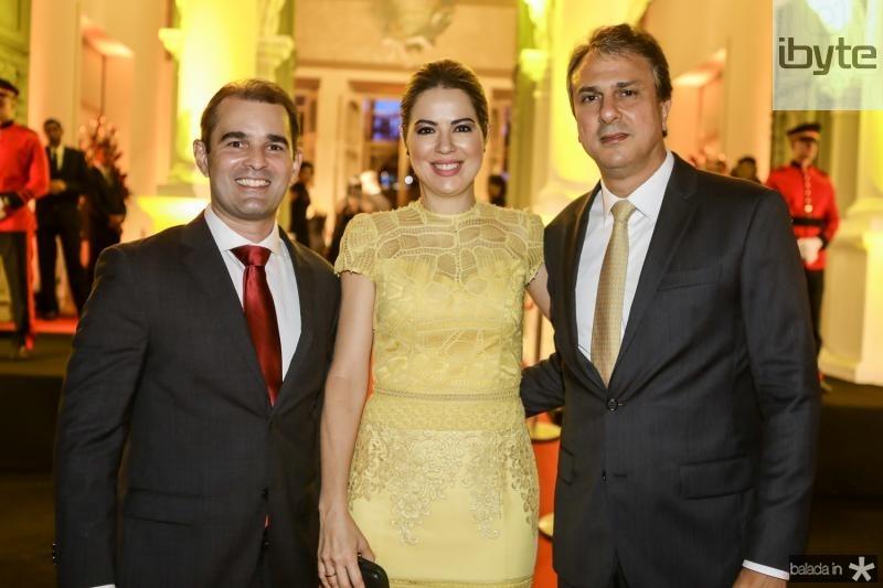Abelardo Rocha, Onelia e Camilo Santana