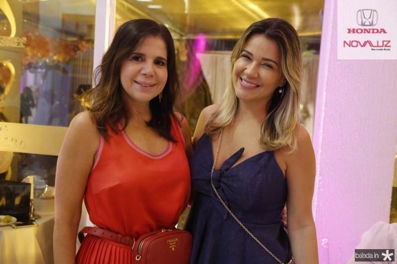 Maria Lucia Carapeba e Jeritza Gurgel