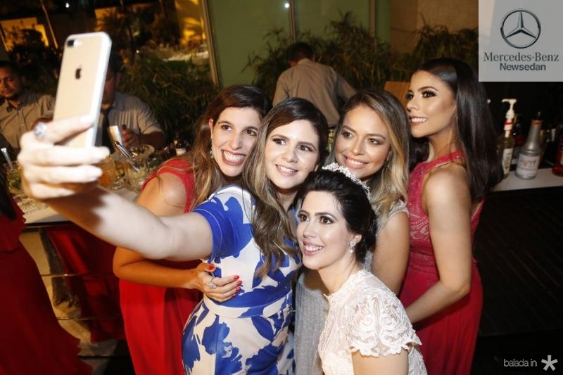 Luana Oliveira, Jamilly Rodrigues, Lorena Aragao, Luciane Rocha e Gabrielle Brandao