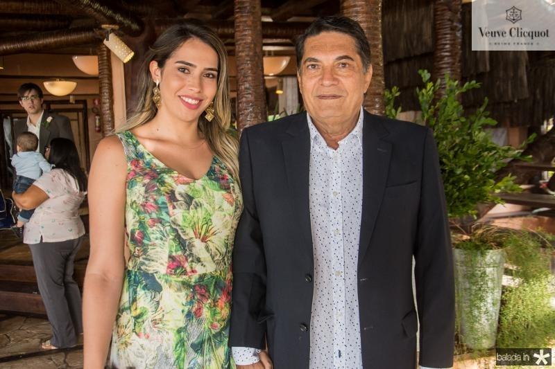 Mariana Oliveira e Renan Braga