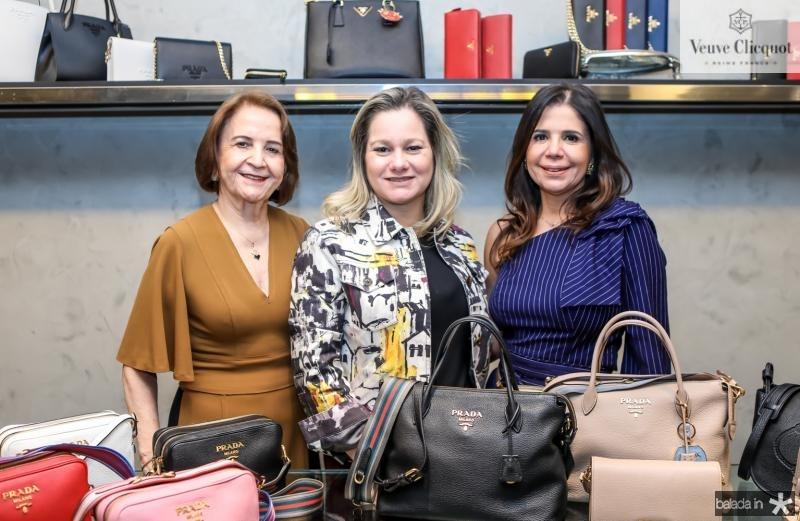 Lenita Negrao, Andrea Philippsen e Maria Lucia Negrao