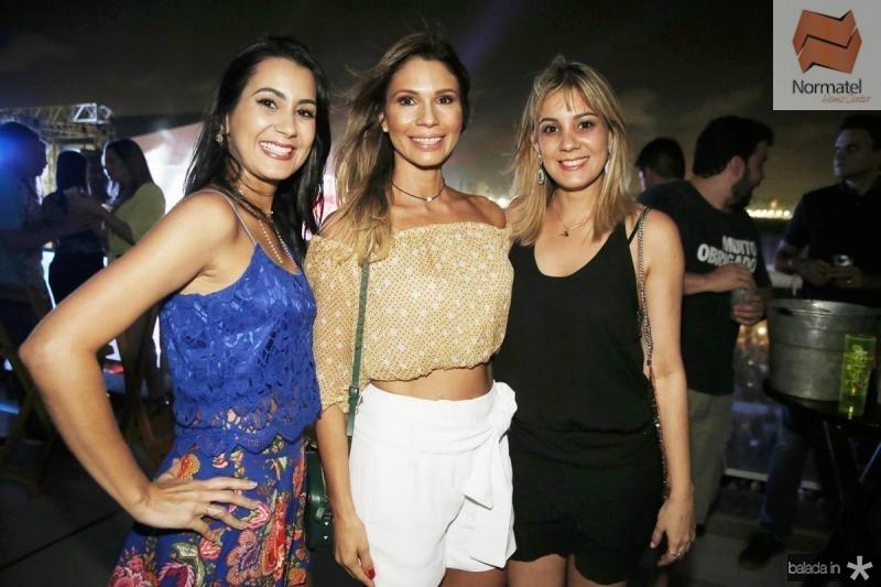 Renata Andrade, Renata Cabral e Roberta Andrade