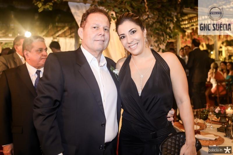 Julio Ventura e Maria Celia Ferreira Gomes