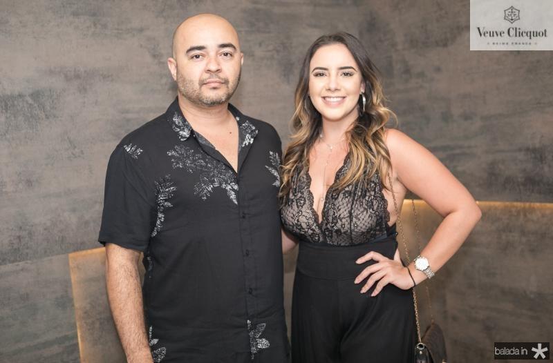 Suetonio Costa e Mariana Cunha