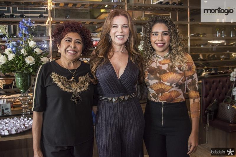 Selma Pereira, Claudia Quental e Thais Pereira