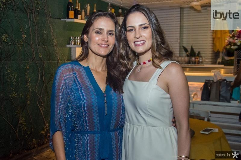 Manoela Bacelar e Marilia Queiroz