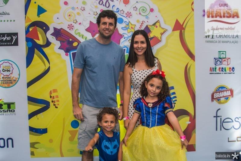Jean, Lucas, Milena e Leticia Guidolin