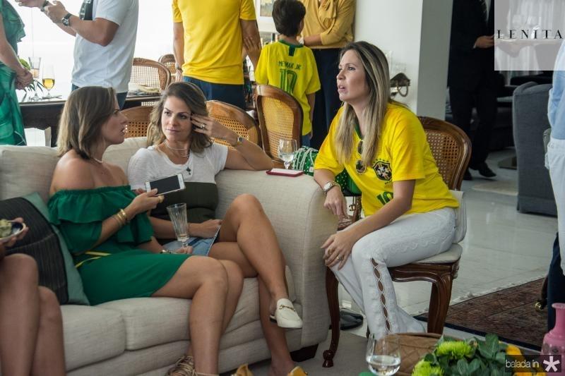 Helen Tigre, Cecilia Dafonte e Fabia Carneiro