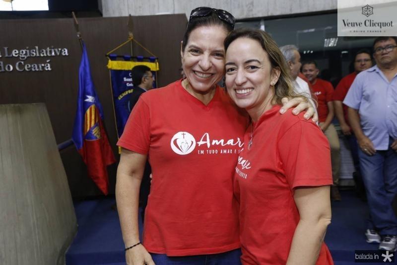 Melissa Cabral e Juliana Moreira