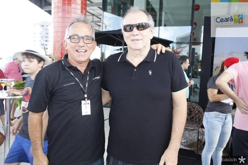 Cesar Giosef e Newton Basto