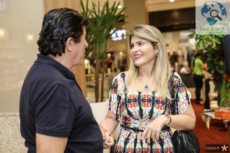 Dito Machado e Gisele Bezerra