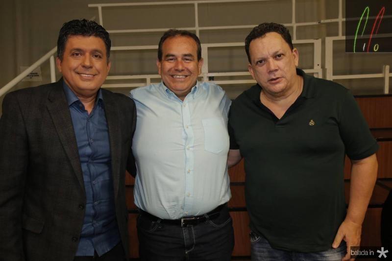 Tony Nunes, Fabio Ambrosio e Lailtinho Brega