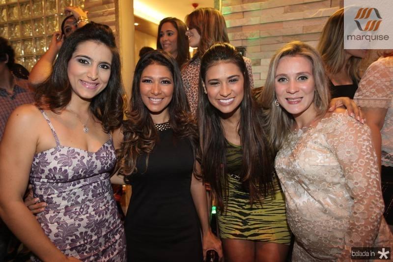 Camila Rodrigues, Simara, Simone e Olga Saraiva