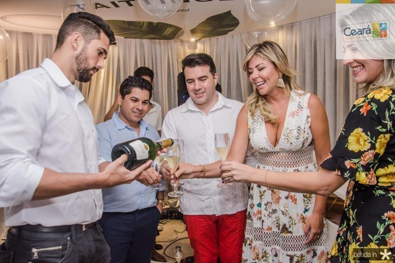 Pompeu Vasconcelos, Danilo Dias, Patricia Dias e Leyliane Pinheiro