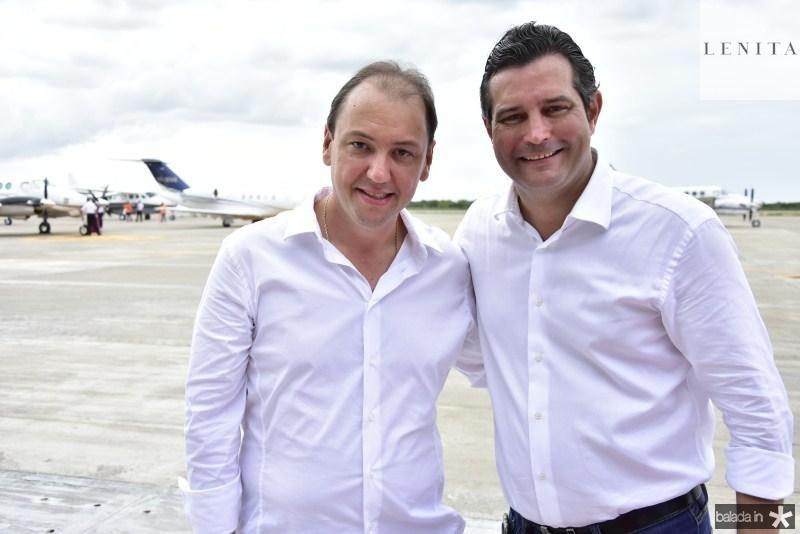 Artison Filho Araujo e Mauricio Quintella
