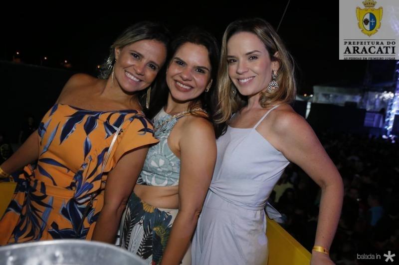 Alessandra Bezerril, Renata Serpa e Teresa Ribeiro