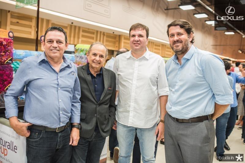 Roberto Saraiva, Nazareno Albuquerque, Evandro Burgato e Rafael Rodrigues