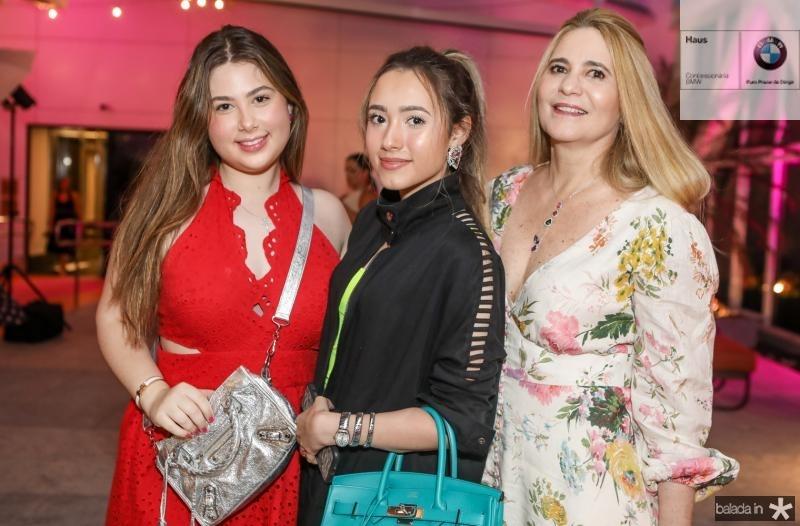 Marcela, Lissa e Morgana Dias Branco