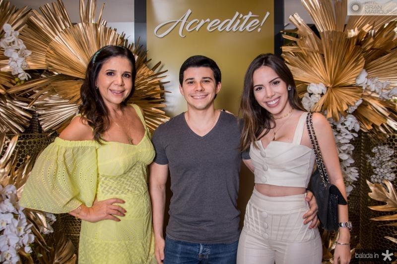 Maria Lucia Negrao, Pedro Paulo Carapeba e Nicole Vasconcelos