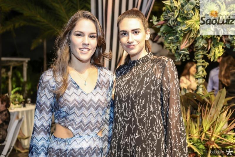 Daniela Frota e Larissa Luz