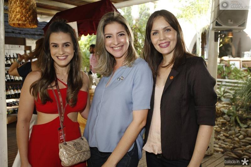 Vanessa Melo, Leliane Pinheiro e Cintia Sampaio