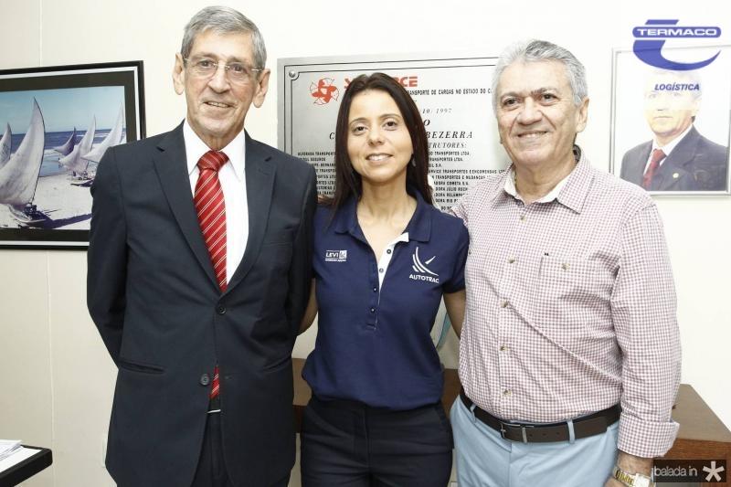 Orlando Kerpen, Glauci Vieira e Clovis Nogueira