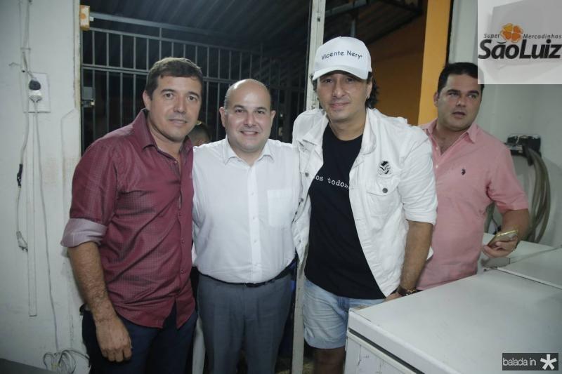 Renato Felipe, Roberto Claudio e Vicente Nery