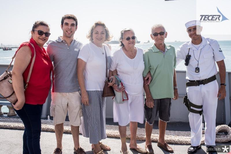Carmem Pereira, Robertson Pereira, Maria Zudenia, Zelda Pereira e Reginaldo Pereira